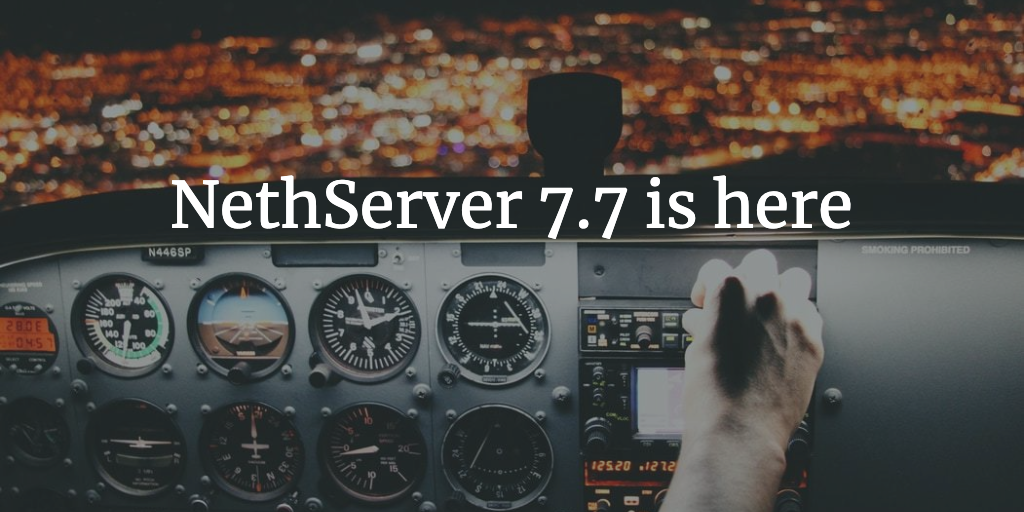 NethServer 7.7 Cockpit Edition Released